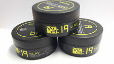 3 x Wahl Academy Collection Wa 19 Klay 100ml ( Hair Styling Clay )