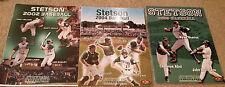Lot of Three Stetson University Hatters Baseball Media Guides 2002 2004 2005