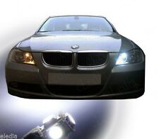 BMW E90 E91 series 3 2 LED bulbs White Lighting Night lights position lights