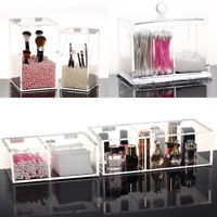 Cosmetic Organizer Clear Acrylic Makeup Drawers Holder Jewelry Storage Box Case