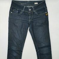 G-Star Lynn Skinny WMN 60367 W28 L32 blau Damen Designer Denim Jeans Hose Mode