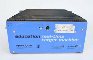 Speedgoat Real-Time Target Machine Simulink Celeron-M 1GHz 855GME 256MB DDR2