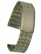 Titan Uhrarmband von Osco mit Faltschliesse 18 mm Uhrenband Uhrband