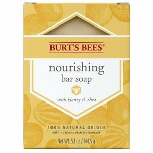 1 bar, Burt's Bees nourishing bar soap with honey & shea, 5.1 Ounce Discontinued