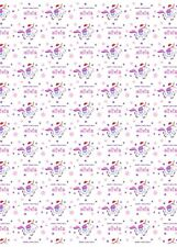 Unicorn Personalised Christmas Wrapping Paper