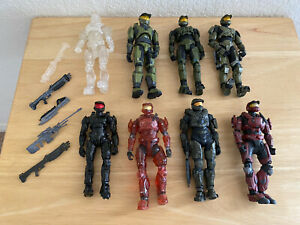 Lot of Halo Action Figures