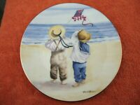 Royal Worcester One Glorious Summer 'Windy Day' plate
