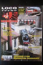 MODELISME FERROVIAIRE TRAIN MAGAZINE LOCO REVUE N° 626 de 1999