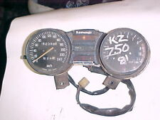 kawasaki  kz 750  1981  speedo taco