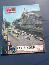 vie du rail 1952 355 GARE DU NORD