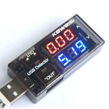 USB Charger Doctor Current Voltage Charging Detector Battery Voltmeter Ammeter J