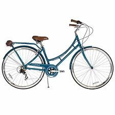 XDS Nadine Women's 7-speed Aluminum Dutch Bicycle - Teal
