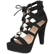 New Women Special Occasion Sandals w/Lace and Zipper Size 8