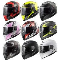 LS2 FF390 BREAKER FULL FACE MOTORCYCLE HELMET FITTED WITH LRP III SENA BLUETOOTH