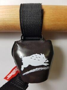 Swisstrailbell Fahrradklingel BlackForest black: Be Wild, Trailbell, Trail Bell