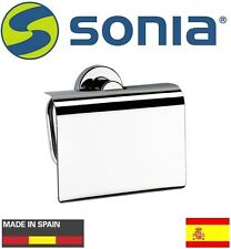"Sonia ""Tecno Project"" Collection 125173 Toilet Tissue Holder w/Cover NIB"