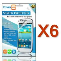 Lot 6 New HD Clear Anti Glare Screen Protector Cover for Motorola DROID 4 XT894