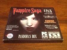 Vampire Saga 4 Pack PC Games Windows 10 8 7 XP Computer Games hidden object seek