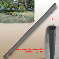 for Coleman 13 x 13 New Style Canopy EXTENDED ADJUSTABLE LEG Gazebo Parts