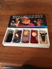 5 Marionnettes à doigts PUPPETS TOFA Marrionnettes VINTAGE NEUVES
