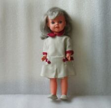 RARE VINTAGE PLASTIC DOLL, MADE IN ITALY