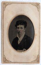 FERROTYPE PHOTO portrait femme pochette T985