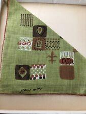 Vintage Jeanne Miller Handkerchief Never Used
