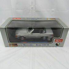 Sun Star Classic ~ Mercedes Benz 350 SL No.1143 Metal 1:18 Die Cast Car Mint