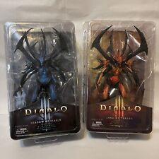 """NECA Diablo III: Shadow of Diablo 7"""" and Diablo LOT 7? 2014 Figures BOTH NIB"""