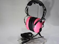 PILOT USA HOT PINK CHILD, YOUTH AVIATION HEADSET p/n PA-1151ACG