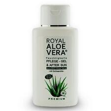 Royal Aloe Vera Pflege Gel After Sun Shave 92% Bio Aloe Vera Schisandra