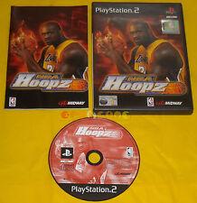 NBA HOOPZ Ps2 Versione Italiana 1ª Edizione ••••• COMPLETO