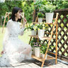 3-Tier Bamboo Plant Stand Planter Rack Flower Pots Holder Disply Rack US Stock