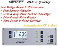 Water Tank Level Monitor Battery Volt Meter Protector Solar Display Switch