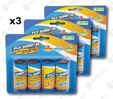 12 ROLLS (4 x 3) Fly Paper Garden Glue Catcher Moth Fruit Fly Australian Stock
