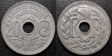 France - IIIème République - 20 centimes Lindauer 1945 Zinc TTB - F.155/2