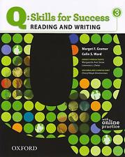 Oxford Q: SKILLS FOR SUCCESS 3 Reading & Writing w Online Practice I Ward @NEW@