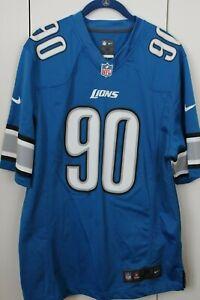 NIKE NFL On Field Detroit Lions #90 Ndamukong Suh Jersey - Sz. M - NWOT