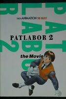japan 83) Mobile Police Patlabor 2: The Movie (Art Guide Book) Damage