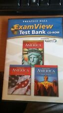 America Exam View Test Bank CD-ROM