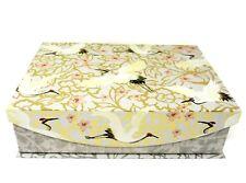 Punch Studio Flap Rectangle Flip Top Nesting Box Cherry Blossom Crane 19180 Sml