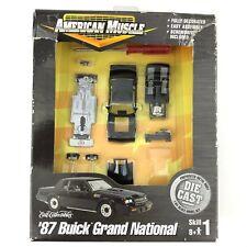 Ertl American Muscle 1987 87 Buick Grand National Car Model Kit Die Cast 1/64