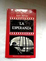 La Esperanza André Malraux Colección Novelas De Cine Orbis Libro 1987