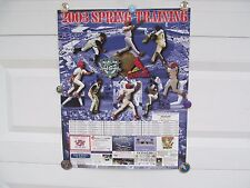 2003 FLORIDA MARLINS / ST LOUIS CARDINALS SPRING TRAINING POSTER