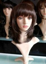 NEW233 new style fancy medium brown hair wig wigs for women