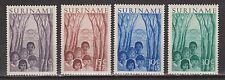 Suriname nr 312 - 315 MLH ong Jeugdwerk Evangelische broedergemeente 1954