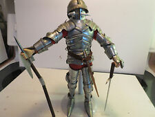 "Cotswold Collectibles 12"" Armored Knight, Archduke Siegmund Of Tyrol, Circa 1480"