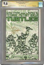 Teenage Mutant Ninja Turtles #4 CGC 9.6 SS 1985 1959244004