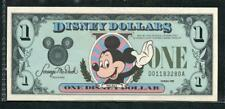 *1988 DISNEY 1 DOLLAR W/ MICKEY MOUSE CH. UNC. & ENVELOPE  PLEASE LQQK!
