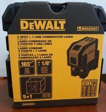 Official DeWALT DW0851 Combilaser Self-Leveling 5-Spot Beam/Horizontal Laser
